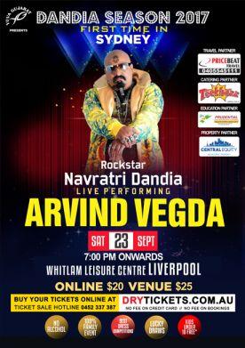Rockstar Navratri Dandia by Arvind Vegda SYDNEY 2017