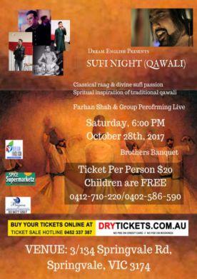 Sufi Night (Qawali) In Melbourne