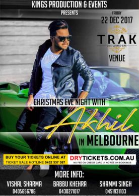 Christmas Eve Night with Akhil in Melbourne