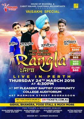 Rangla Punjab Live In Perth