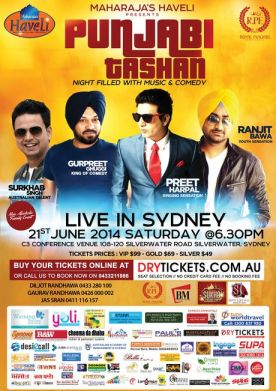 Punjabi Tashan Live In Sydney