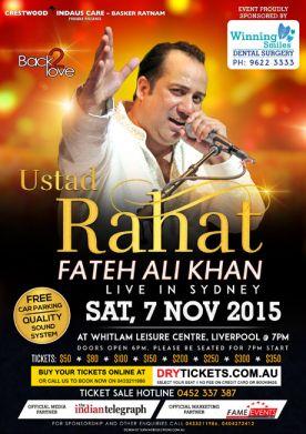Ustad Rahat Fateh Ali Khan - 2015
