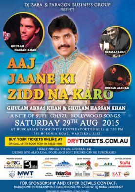 Aaj Jaane Ki Zidd Na Karo