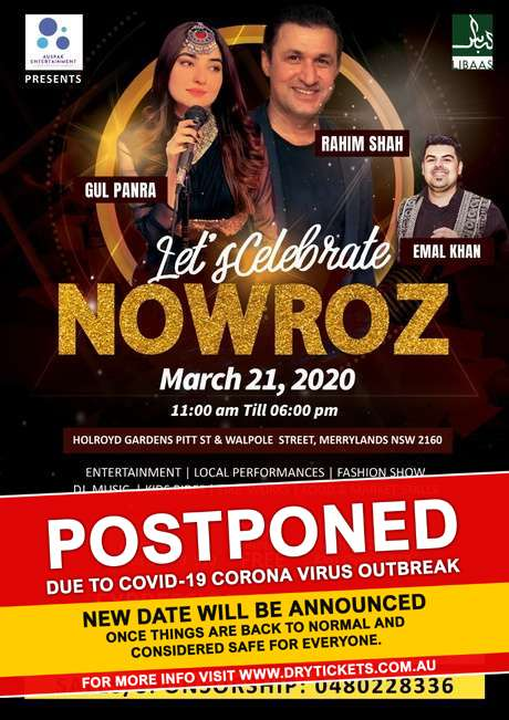 Let's Celebrate NOWROZ In Sydney