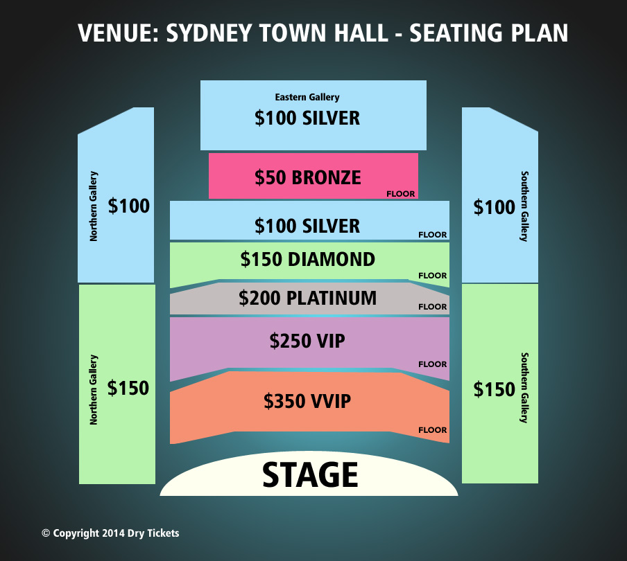 Arijit Singh Live In Sydney Seating Map