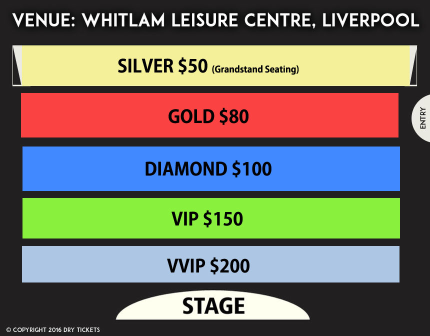 Gurdas Maan Live In Sydney Seating Map