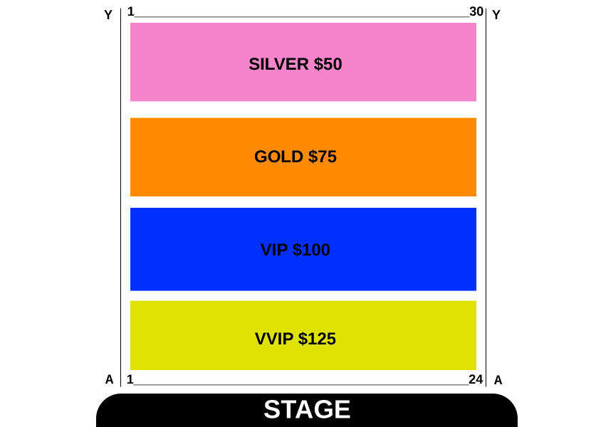 Amrinder Gill Live In Brisbane 2017 Seating Map