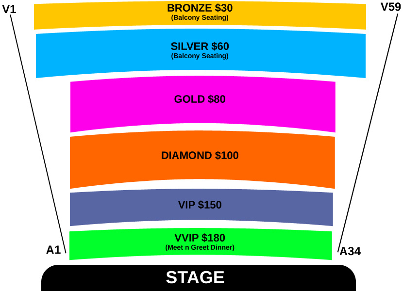 Punjabi Virsa 2017 Live In Sydney Seating Map