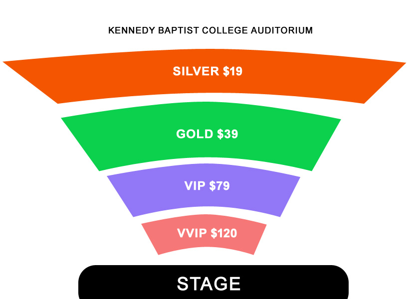 The Black Prince Tour - Satinder Sartaaj Live In Perth 2017 Seating Map