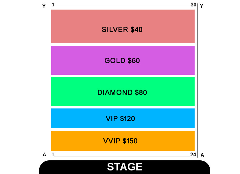 The Black Prince Tour - Satinder Sartaaj Live In Brisbane 2017 Seating Map