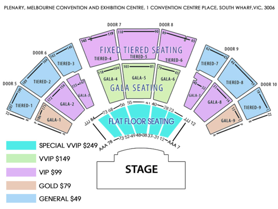 Folk & Sufi Collaboration Arif Lohar & Kanwar Grewal In Melbourne Seating Map