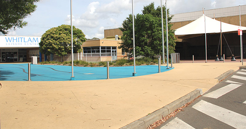 Whitlam Leisure Centre in Liverpool
