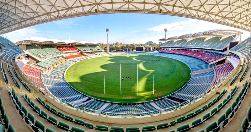 Adelaide Oval in North Adelaide