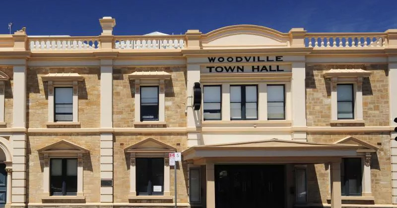 Woodville Town Hall in Woodville