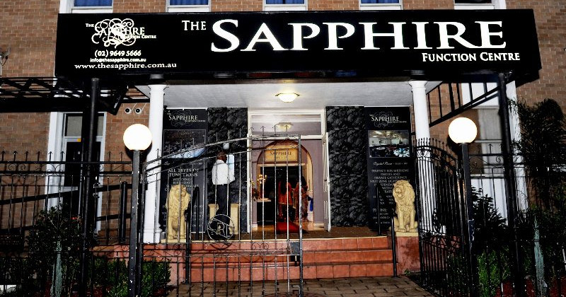 The Sapphire Function Centre in Auburn