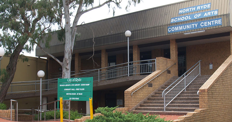 North Ryde School of Arts Centre in North Ryde