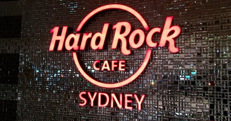Hard Rock Cafe Sydney in Sydney