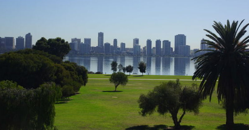 Sir James Mitchell Park in South Perth