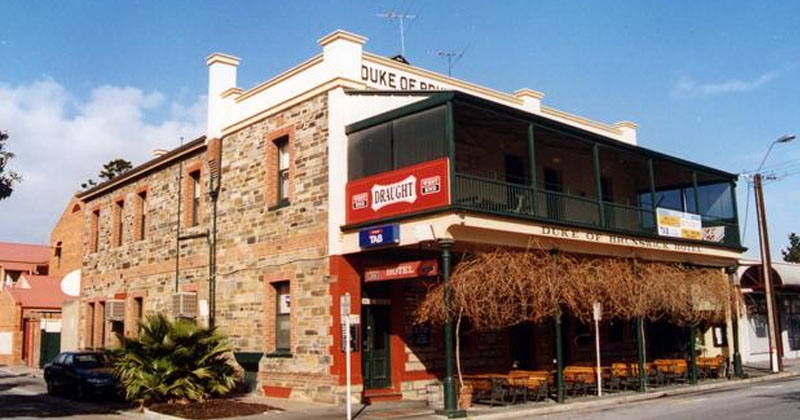 The Duke in Adelaide