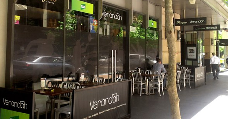 Verandah Bar in Sydney