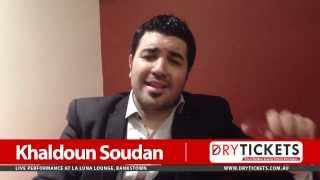Arab World Singing Sensation Khaldoun Soudan Message
