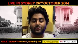Arijit Singh | Invitation For Sydney Fans