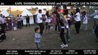 Flash Mob at Diwali Mela 2013 - Fusion Unleashed Kapil Sharma in Sydney