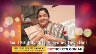 Mega Musical Night 2015 - Legend KS Chitra Live In Sydney 2015 - Invitation For Sydney Fans