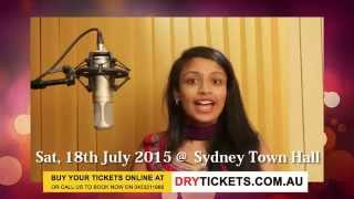 Mega Musical Night 2015 - Super Singer Jessica Live In Sydney Town Hall - Invitation For Sydney Fans