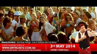 Neeraj Shridhar Live In Sydney Promotional Video