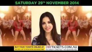 Sunny Leone | Invitation For Sydney Fans