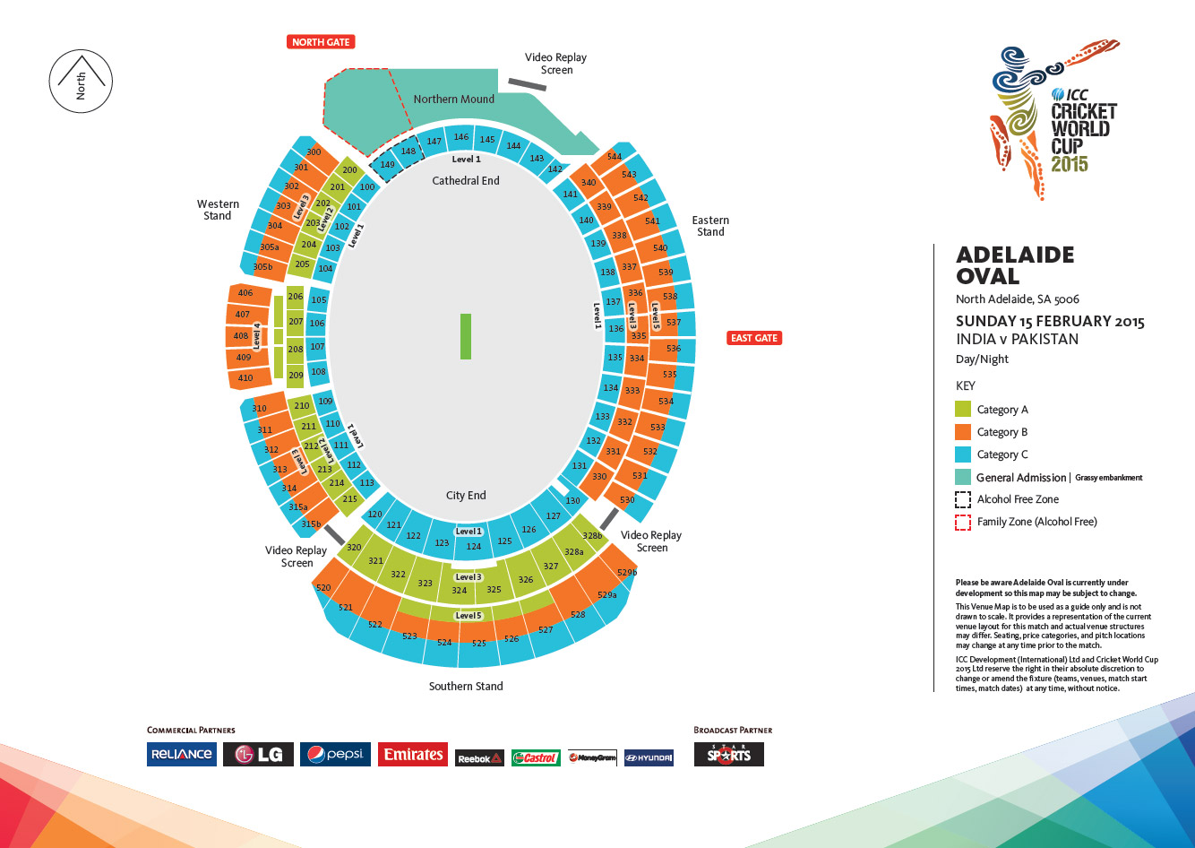 Cricket World Cup 2015 Tickets  A Cups Vs B Cups